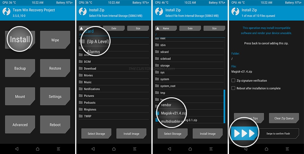Flash Magisk to root Snapdragon Galaxy S20